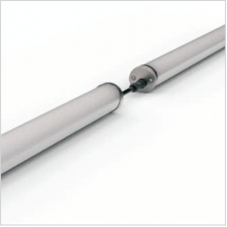 BRIGHT 20W Hublot extérieur LED aluminium IP65 IK10