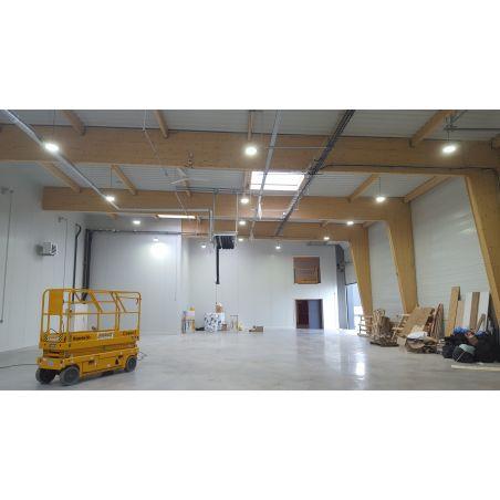 SESTRA 120W Tête de lampadaire LED