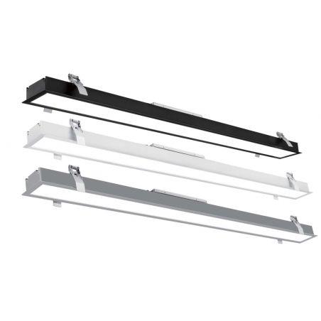 NOGAP 2 25W Downlight encastré LED IP54 Réflecteur grand brillant