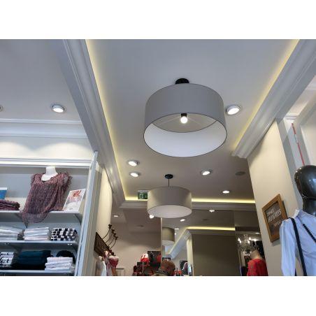NOVAD 600x600 54W dalle LED 100 lm/W IP44