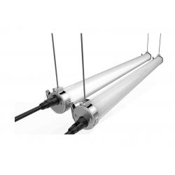 TORPA 75 TRAVERSANT 20W luminaire tubulaire étanche LED IP69K IK10