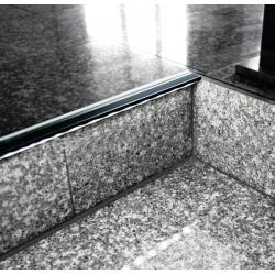 Profilé aluminium nez de marche 2
