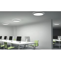 DONEA PLAFONNIER 40W rond direct/indirect Ø600 LED