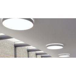 DONEA PLAFONNIER 50W rond direct/indirect Ø750 LED