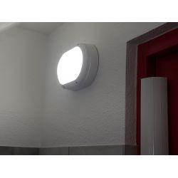 EYELID 20W Hublot extérieur LED aluminium IP65 IK10
