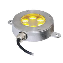 GRUND 6x3W spot rond immergé LED