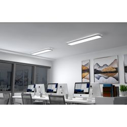 OLATO PLAFONNIER 50W/10W 1200 direct/indirect LED