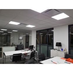 NOVAD 600x600 36W dalle LED 100 lm/W IP44