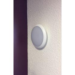ELBIO D 12W Applique extérieur LED IP65 IK10 détecteur