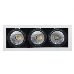 CONNOR 3 3x7W spot encastré LED dimmable Triac