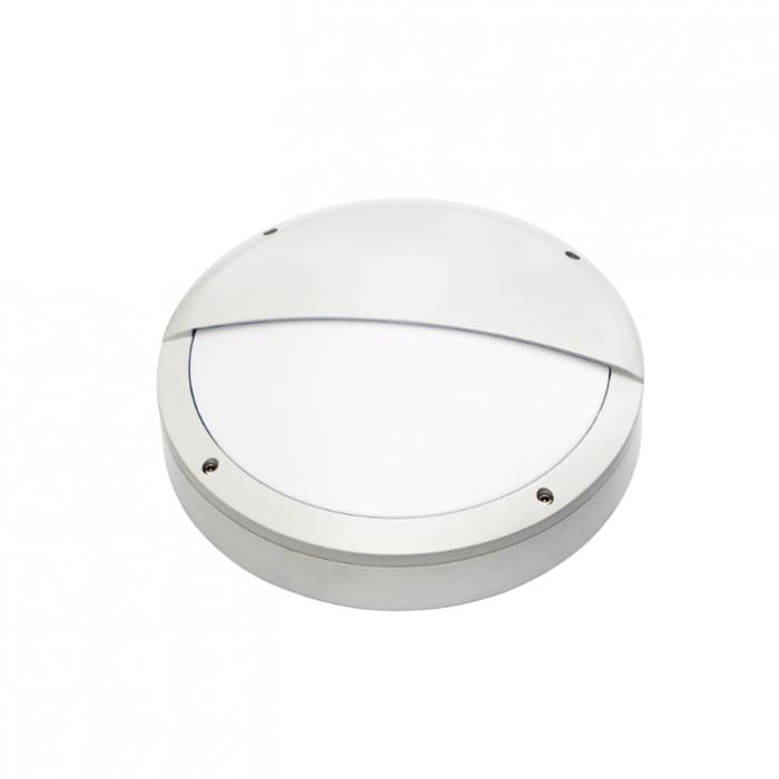 BRIGHT CASQ 20W Hublot extérieur LED aluminium IP65 IK10