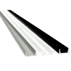 Profilé aluminium SURFACE 17 x 8 mm