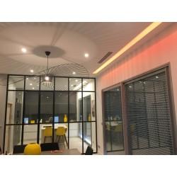 SLOAN HE 45W Downlight encastré LED IP54 MULTI K 120 lm/W