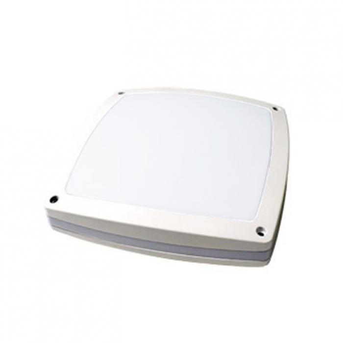 TELAO D 40W Hublot extérieur LED aluminium IP65 IK10 détecteur